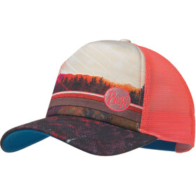 Buff Lifestyle Trucker Cap collage multi